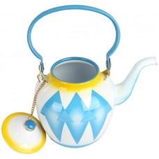 أباريق الشاي من خليط معدني ، ازرق - مقاس 1.6 لتر